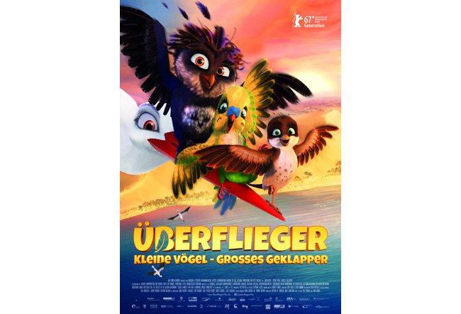 überflieger - Kleine Vögel Großes Geklapper